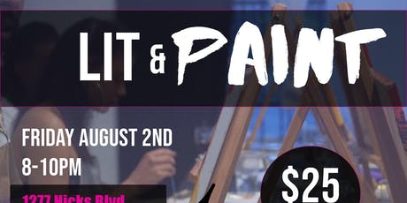 LIT and PAINT x Aug.2nd tickets
