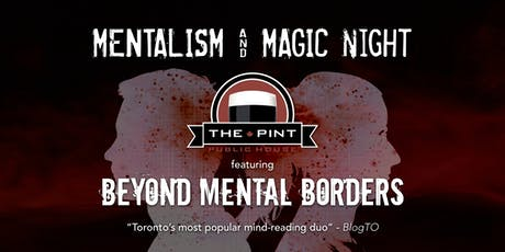 Mentalism + Magic night at The Pint tickets
