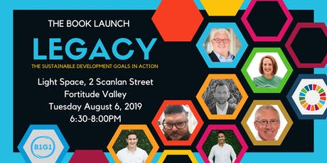 Legacy: The Book Launch tickets