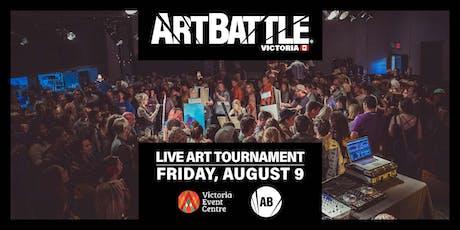 Art Battle Victoria - August 9, 2019 tickets