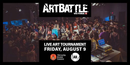 Art Battle Victoria - August 9, 2019