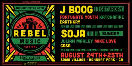 Rebel Music Festival @ SOMO tickets