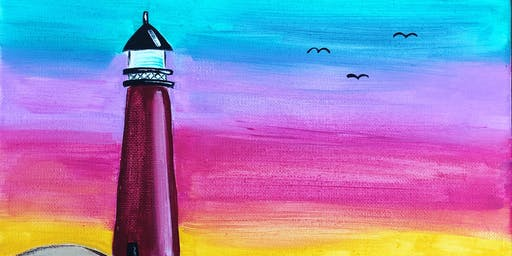 Mommy & Me Painting Class - Lighthouse