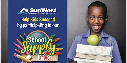 School Supply Drive In Support Of Ft. Bend Family Promise