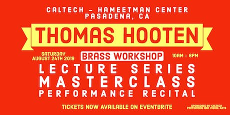 Thomas Hooten Brass Workshop tickets