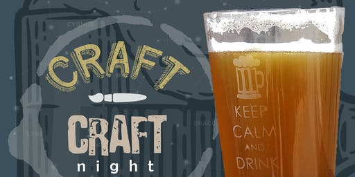 DIY Etched Pint Glasses at Growler USA