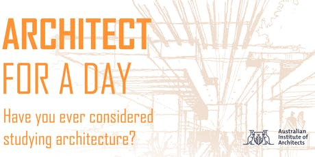 Architect for a Day 2019 Gold Coast  tickets