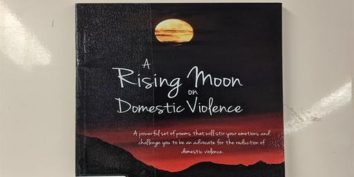 Meet Elizabeth Blade.  Author of 'A Rising Moon on Domestic Violence'