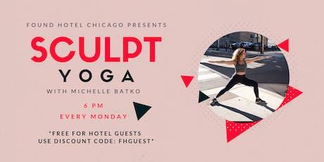 FOUND Hotels Presents: Sculpt Yoga tickets