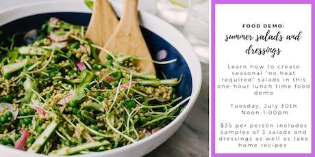 Beat the Heat: Summer Salads & Dressings  tickets