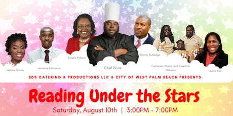 """Reading Under the Stars"" Back to School Initiative tickets"