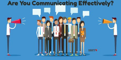 The Art of Effective Communication tickets