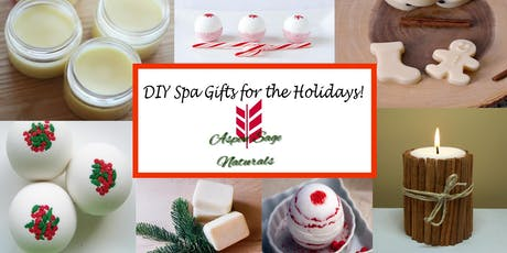 DIY Spa Gifts for the Holidays tickets