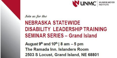 Nebraska Statewide Disability Leadership Training  Seminar Series tickets