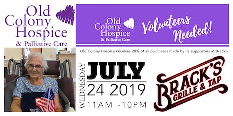Brack's Fundraiser for the Old Colony Hospice tickets
