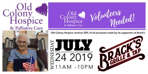 Brack's Fundraiser for the Old Colony Hospice