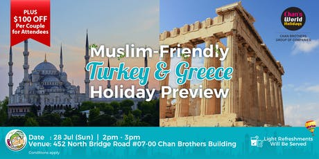 Muslim-Friendly Turkey & Greece Holiday Preview tickets