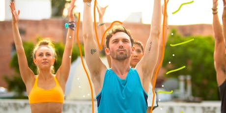FREE Patio Yoga at TOMS Brooklyn tickets