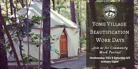 Yome Village Beautification Work Days tickets