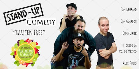 "Stand Up Comedy ""Gluten Free"" boletos"