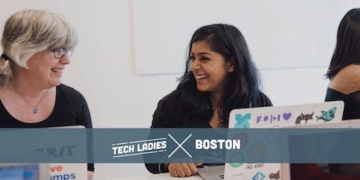 Tech Ladies Boston: Entering Tech - Bootcamp vs CS Degree
