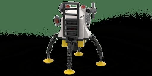Build an Apollo 11 Lunar Lander using LEGO® bricks!