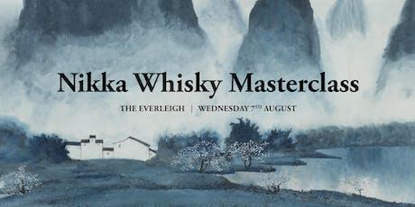 Nikka Whisky Masterclass tickets