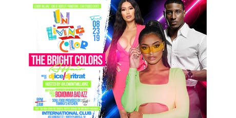 """IN LIVING COLOR""  The Bright Colors Affair tickets"