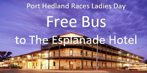 Ladies Day - Free Bus to The Esplanade Hotel