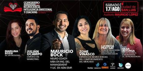 1° Congreso Internacional de Neurociencias, Inteligencia Emocional San Luis entradas