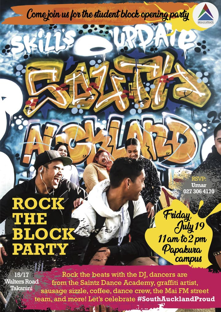 SouthAucklandProud -- The Student Block opening party - 19
