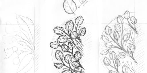 Sketching for Botanical Composition