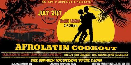 Afrolatin Cookout: Season 2 tickets