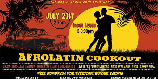 Afrolatin Cookout: Season 2  *3  for 1 Pre-sale ONLINE ONLY *