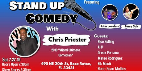 Comedy night with Chris Priester at the Artful Dodger tickets