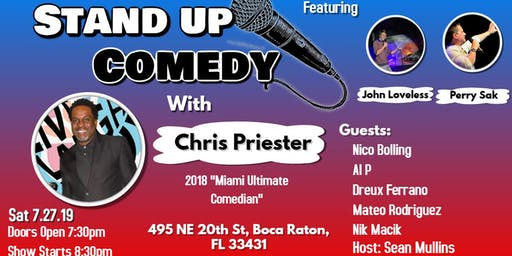 Comedy night with Chris Priester at the Artful Dodger