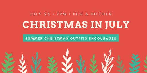 It's Christmas in July at Keg & Kitchen