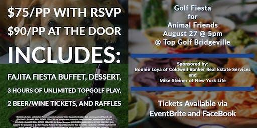 Animal Friends Fundraiser at Top Golf Bridgeville