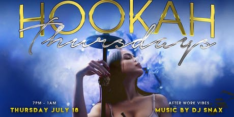 Hookah Thursdays  tickets