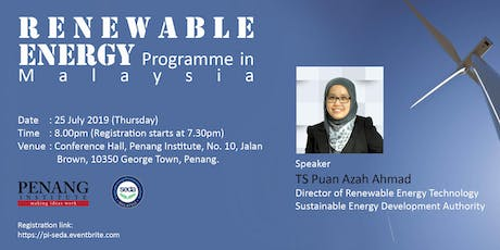 Renewable Energy Programme in Malaysia tickets