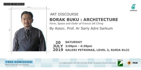 BORAK BUKU: ARCHITECTURE FORM, SPACE AND ORDER OF FRANCIS DK CHING tickets