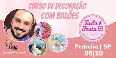 Ledo Gifts - Curso de Balões | Pedreira SP