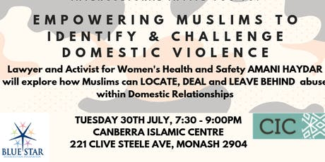Empowering Muslims to Identify & Challenge Domestic Violence tickets