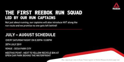 THE FIRST REEBOK RUN SQUAD by Reebok Ambassadors! [20th July 2019]