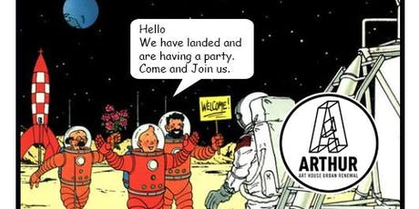 ARTHUR - Landing Party- Celebrate 50 years since man landed on the moon and the landing in Adelaide of ARTHUR tickets
