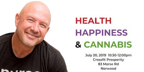 nurseMARK Health-Happiness-Cannabis tickets