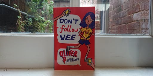 September Middle Grade Book Club — Don't Follow Vee (AUTHOR ATTENDING)