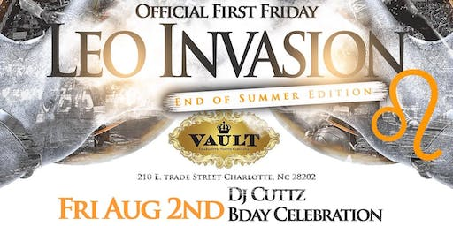 Vault CLT FREE FIRST FRIDAY RSVP Entry List