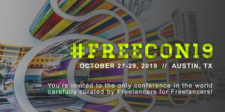 #FREECON19 // The Freelance Conference tickets