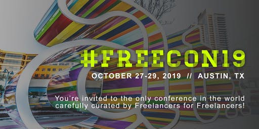 #FREECON19 // The Freelance Conference